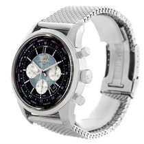 Breitling Transocean Chronograph Unitime Watch Ab0510u4.bb62.1...