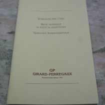 Girard Perregaux vintage warranty booklet for ref.47990