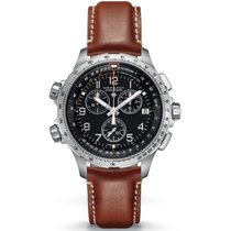 Hamilton Khaki X-Wind GMT Chrono Herrenuhr H77912535