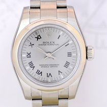 Rolex Oyster Perpetual silver Dial Oysterband random 26...