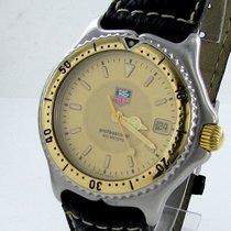 TAG Heuer Professional Wi1251 Herren Uhr Stahl/gold 200m Date Box