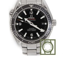 Omega Seamaster Planet Ocean Co Axial 600m black