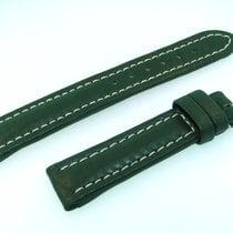 Breitling Band 16mm Kalb Grün Green Verde Calf Strap Für...