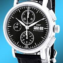 """IWC """"Portofino Chronograph"""" Strapwatch."""