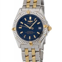 Breitling Windrider Wings Two Tone Automatic Men's Watch –...