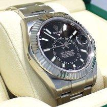 Rolex Sky-dweller 326934 Steel Black Dial Oyster Perpetual...