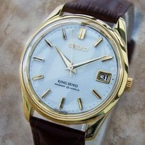 Seiko King Seiko 4402 8000 Rare Men's Manual Wind Japanese...
