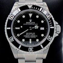 Rolex Sea-dweller 16600 Steel Date Black Dial Men's Diver...