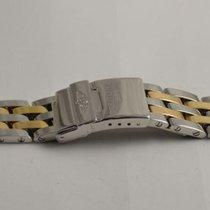 Breitling Pilot Armband Stahl/gold 20mm  Navitimer Airborne 92