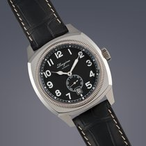 Longines Heritage 1935 stainless steel automatic watch