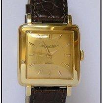 IWC antike / vintage Herrenuhr Automatik 18kt.Gelbgold ca. 1962