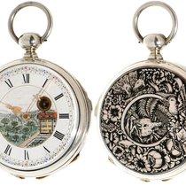 Jacot enamel quater repeater gent's pocket watch