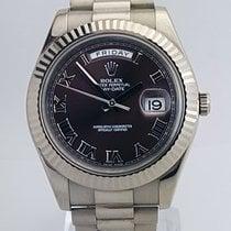 Ρολεξ (Rolex) Rolex Oyster Perpetual Day-Date II brown dial...