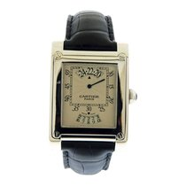 "Cartier Collection Privee ""Tank A Vis"" Jump Hour"