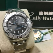 Rolex Cally - 268622 Yacht-Master Grey Dial 37mm Lady 2016 NEW