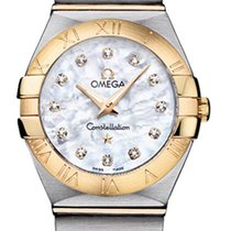 Omega Constellation Brushed 24mm 123.20.24.60.55.002