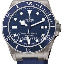 Tudor Pelagos 25600TB Blue Men's 42mm Titanium 500M Blue...