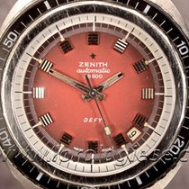 "Zenith Defy 1000 Metres ""sub-sea"" Red Dial Cal. 2552pc"