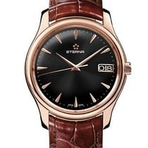 Eterna watch Vaughan Big Date 42 mm