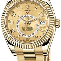 Rolex Sky-Dweller Yellow Gold