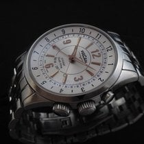 Vulcain Stainless Steel Cricket GMT New