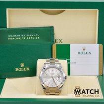 Rolex Unworn Datejust II 116300 Silver Index Dial
