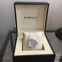TAG Heuer Stainless Steel and Ceramic Aquaracer Watch