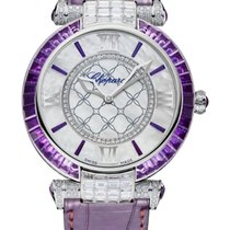 Chopard Imperiale 18K White Gold, Amethysts & Diamonds...