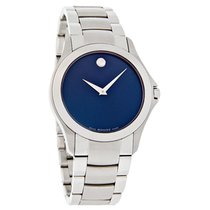 Movado Masino Series Mens Stainless Steel Swiss Quartz Watch...