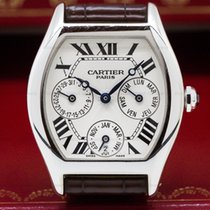 Cartier 2540 Collection Privee Tortue Perpetual Calendar 18k...