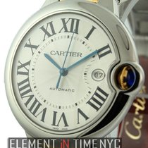 Cartier Ballon Bleu Collection Steel / Yellow Gold Automatic 42mm