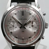 Favre-Leuba 1950's Manual Wind Valjoux 23 Chronograph