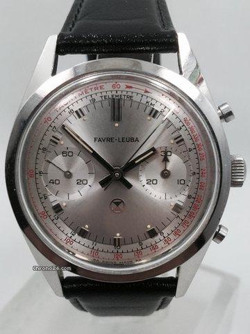 favre leuba 1950 39 s manual wind valjoux 23 chronograph f r kaufen von einem trusted. Black Bedroom Furniture Sets. Home Design Ideas