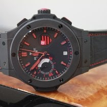 Hublot Flamengo Bang Black Rubber Gummy Alligator