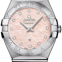Omega Constellation Brushed 24mm 123.10.24.60.57.002