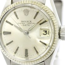 Rolex Vintage Rolex Oyster Perpetual Date 6517 White Gold...