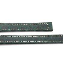 Ebel 1911 Leder Band Grün 14 mm für Faltschließe, Original NEU