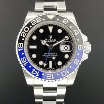Rolex GMT Master II Ref. 116710 BLNR 40mm Ceramic Bezel Blue...