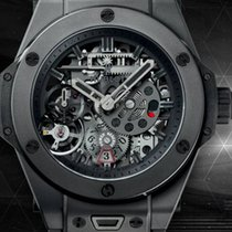 Hublot MECA-10 SKELETON BLACK BIG BANG 414CI1110RX
