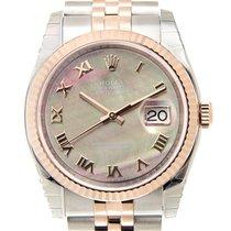 勞力士 (Rolex) Datejust 18k Rose Gold And Steel Black Automatic...