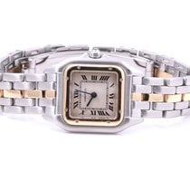 Cartier Ladies 18K Yellow Gold/Stainless Steel Panthere -...