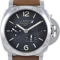 Panerai Luminor 1950 3 Days GMT Acciaio Automatic Men Watch...