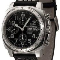 Zeno-Watch Basel Carré OS Pilot Chronograph Day-Date