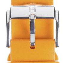 Hirsch Uhrenarmband Kautschuk Pure L orange 40538876-2-20 20mm