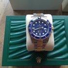 Rolex Submariner Two-Tone Ceramic Blue Bezel
