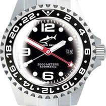 Chris Benz Deep 2000m Automatic GMT Super Bubble CB-2000A-D3-M...