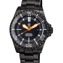 Deep Blue Master 2000 Automatic Diver Swiss Eta Mvt Pvd Case...