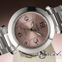 Cartier PASHA AUTOMATIC DATE PINK DIAL - BEAUTIFUL LADY WATCH