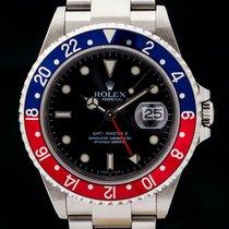 롤렉스 (Rolex) GMT Master II, Z-Serie, 16710 BLRO , Rectangular,...