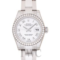 Rolex Lady Datejust Silver Steel Dia 26mm - 179384